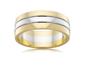 Two Tone 7MM wide