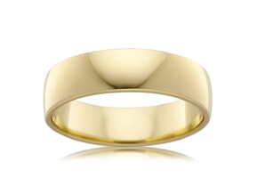 Classic Mens Wedding Ring 5mm Wide