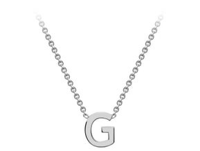 Gold Initial Pendant -G Ring