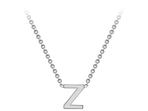 Gold Initial Pendant -Z Ring